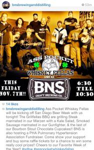 BNS SDBW band